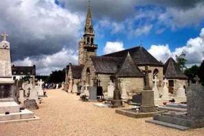 L'église de Berrien